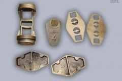 Manufatti di fonderia in bronzo